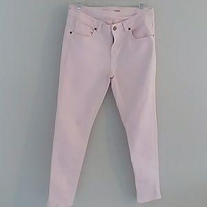 Michael Kors pale pink jeans